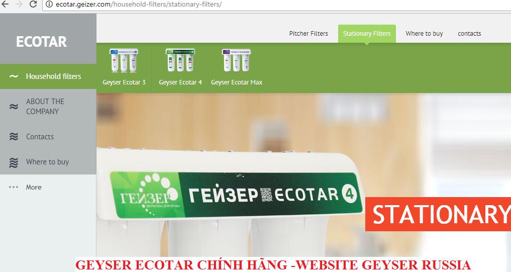 MAY LOC NUOC NANO GEYSER ECOTAR CHINH HANG
