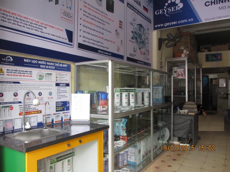 Đại lý máy lọc nước Geyser 225 Trần Nguyên Hãn - Hải Phòng