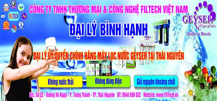 Đại lý máy lọc nước Thái Nguyên