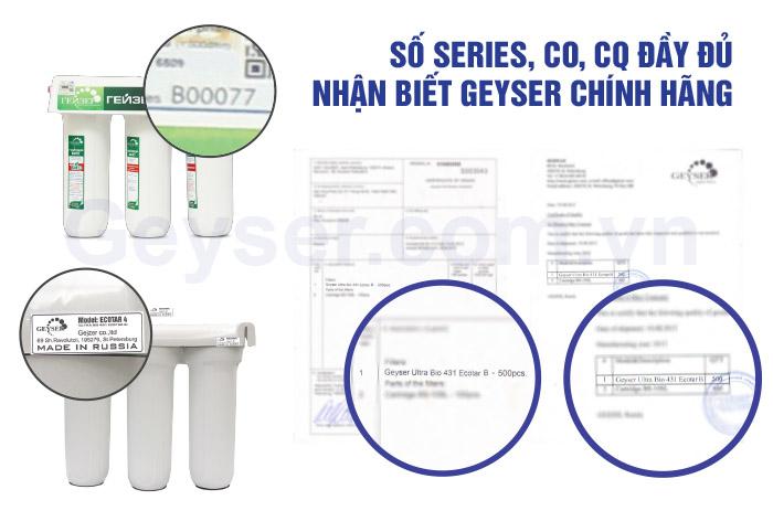Kiểm tra máy lọc nước nano Geyser ecotar 4