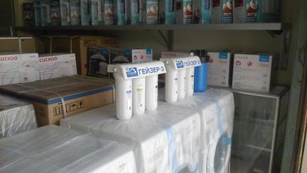 Kệ hàng máy lọc nước đại lý Ninh Bình