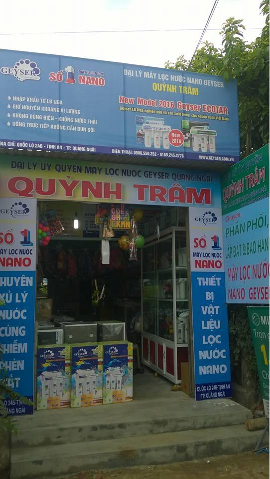 Đại lý máy lọc nước Geyser Quảng Ngãi