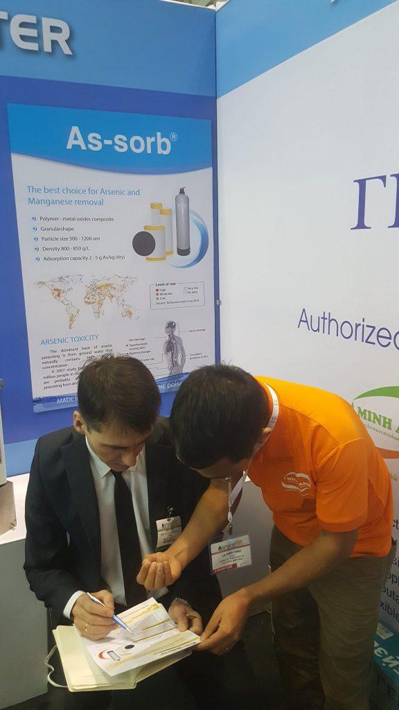 Thị trường Quốc tế rộng mở với Minh Anh water