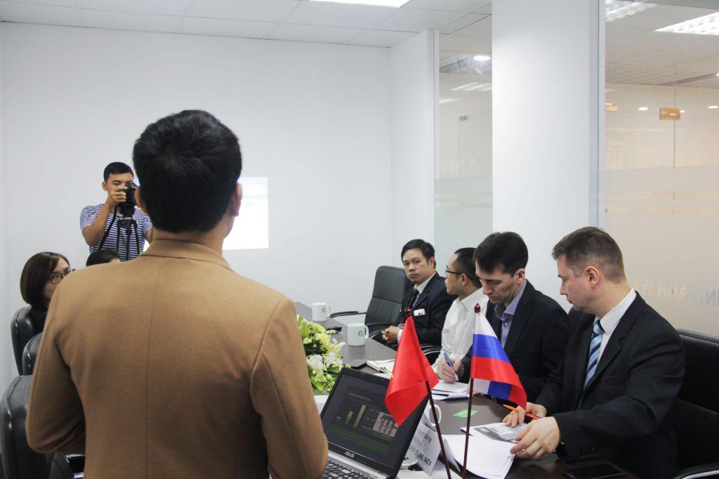Minh Anh water trình bày kế hoạch phát triển máy lọc nước nano Ecotar