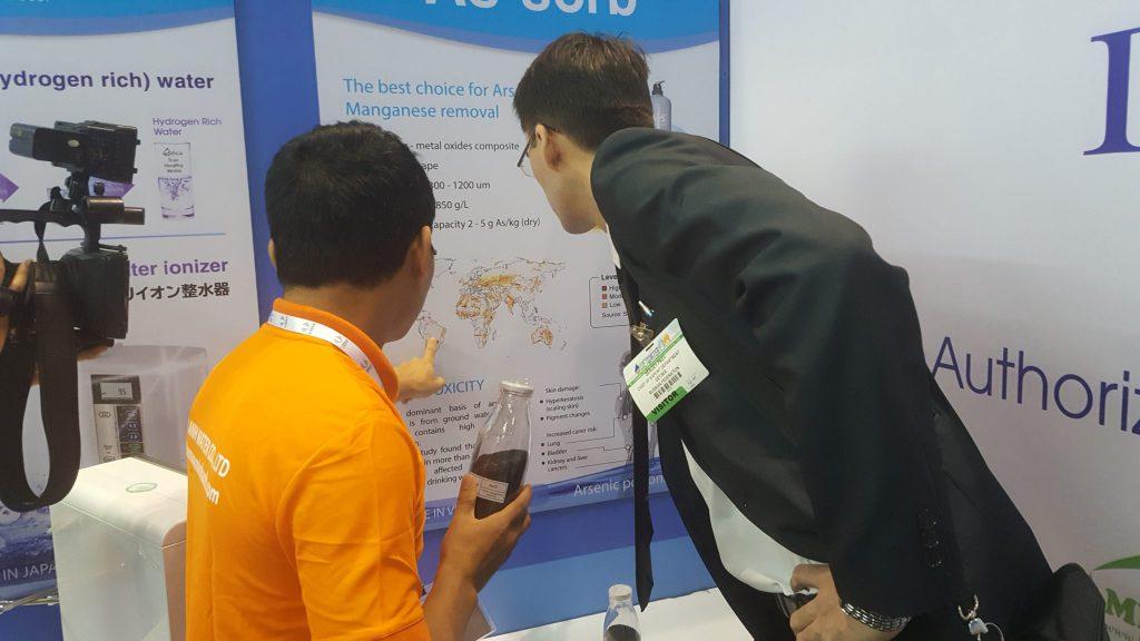 Vật liệu lọc Asen do Minh Anh sản xuất