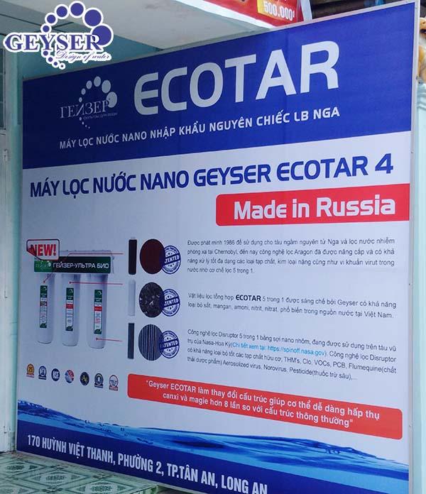 Máy lọc nước Geyser Ecotar 4 Long An