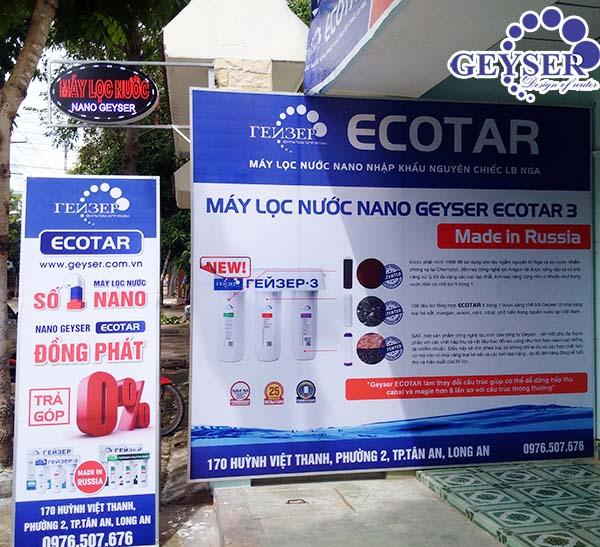 Máy lọc nước Geyser Ecotar 3 Long An