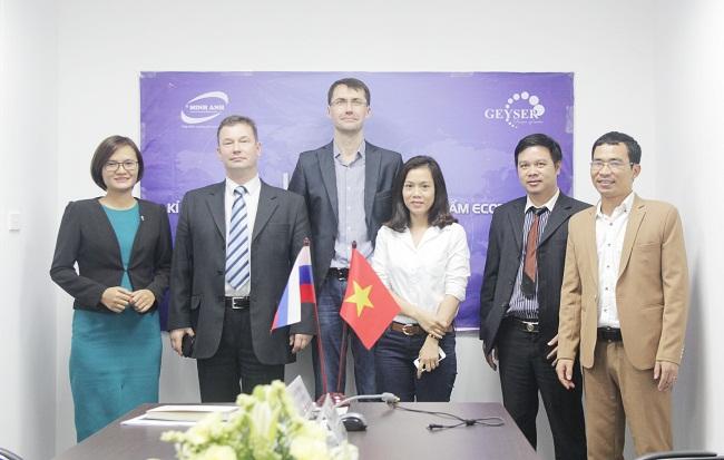 Geyser Liên Bang Nga đã bắt tay với Minh Anh Water trong việc phân phối dòng máy lọc nước chính hãng tới tay người tiêu dùng