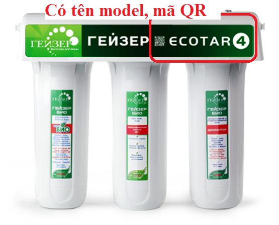 Nhận biết Geyser Ecotar chính hãng