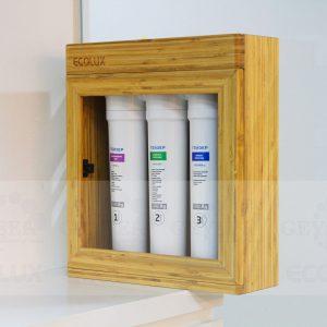 Máy lọc nước nano Geyser Ecolux có thể dùng treo tường