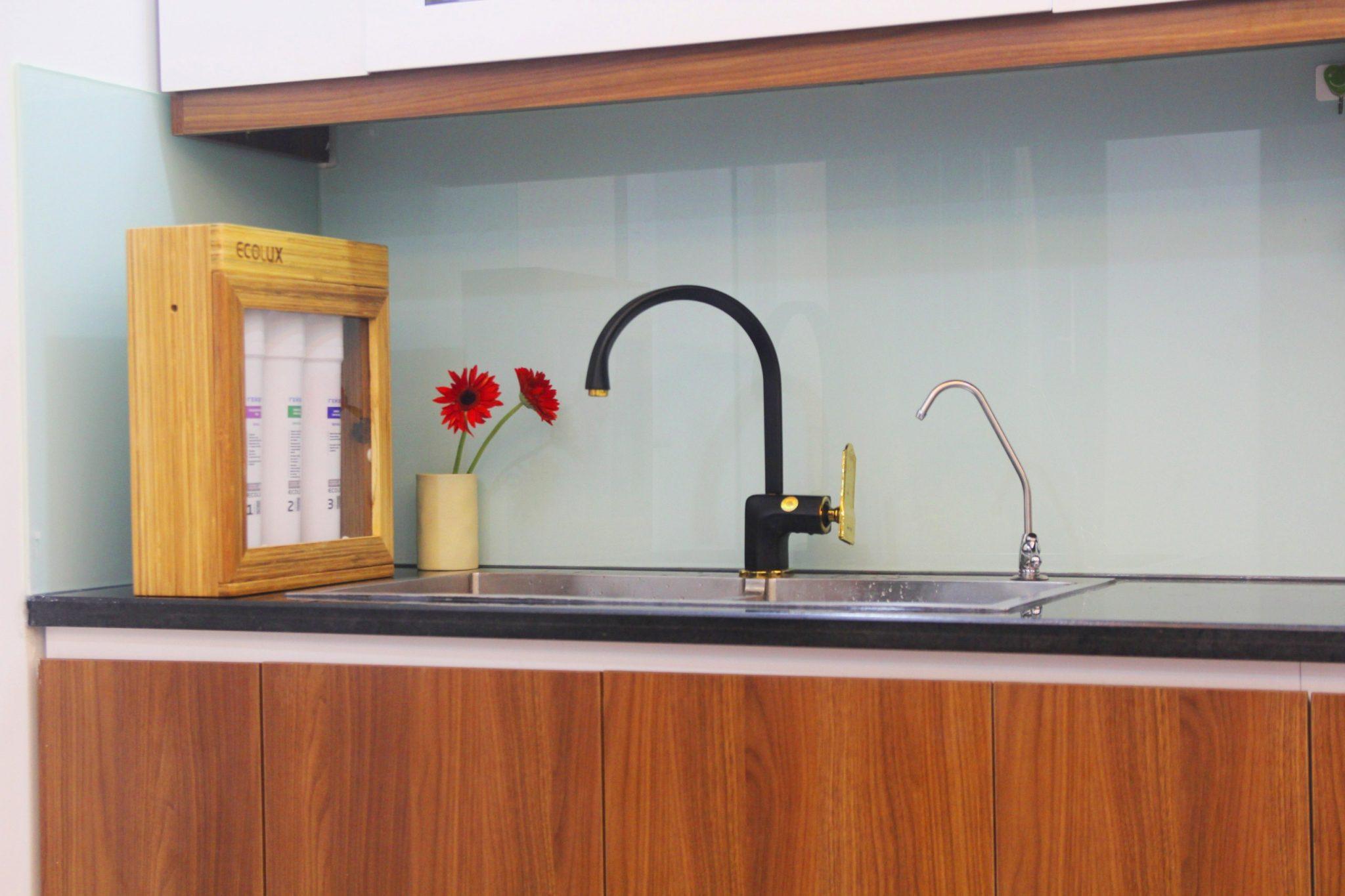 Máy lọc nước Geyser Ecolux giúp không gian gia đình sang trọng, lịch sự