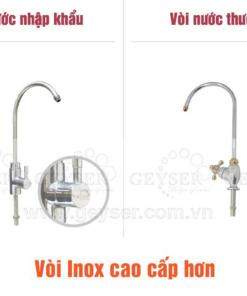 Vòi nước nhập khẩu của máy lọc nước nano Geyser Ecotar 5 chính hãng