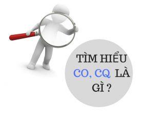 CO, CQ là gì