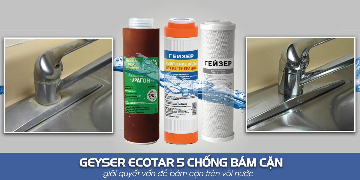Máy lọc nước nano Geyser Ecotar 5
