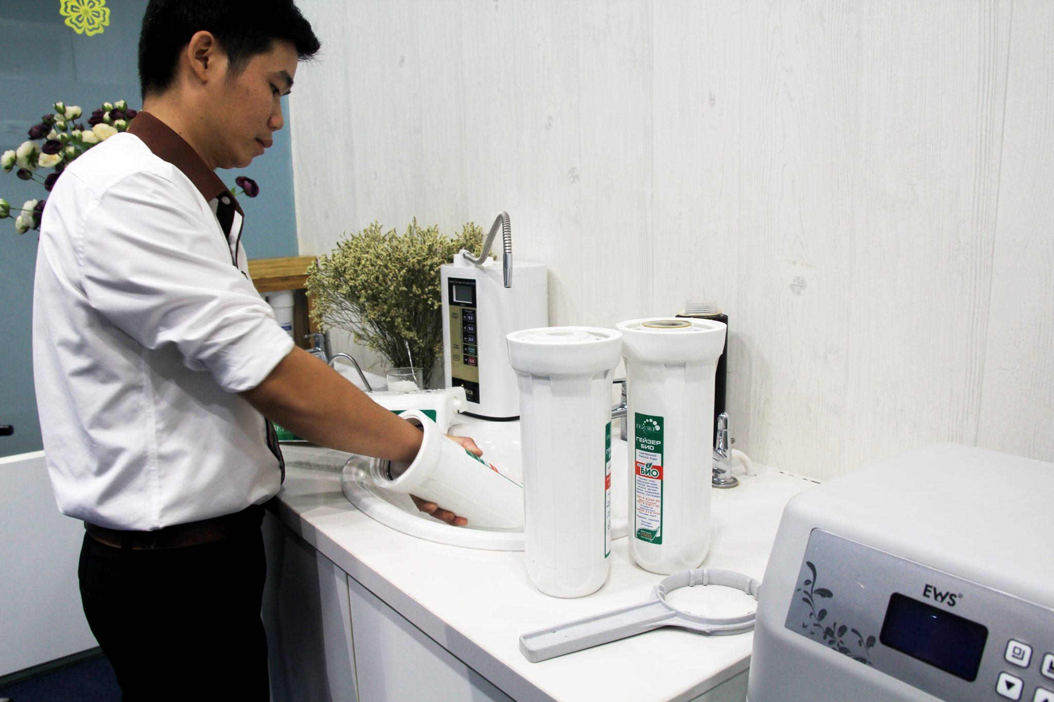 hoàn nguyên máy lọc nước