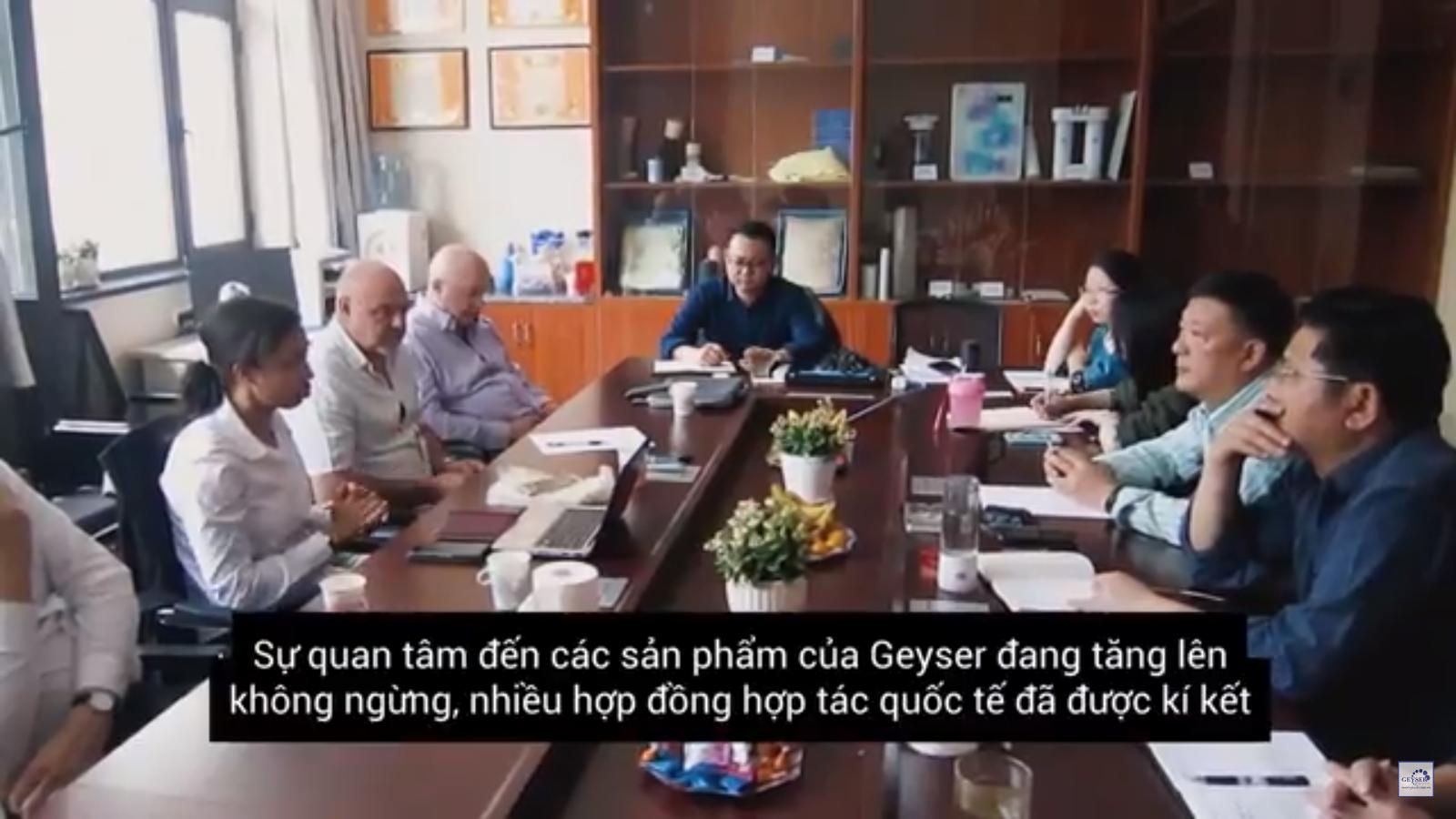 Sự lớn mạnh của Geyser LB Nga