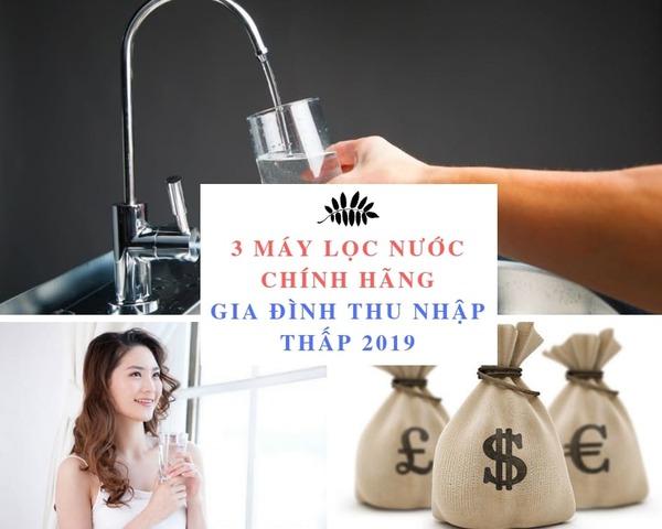 Máy lọc nước cho gia đình thu nhập thấp - Geyser Việt Nam
