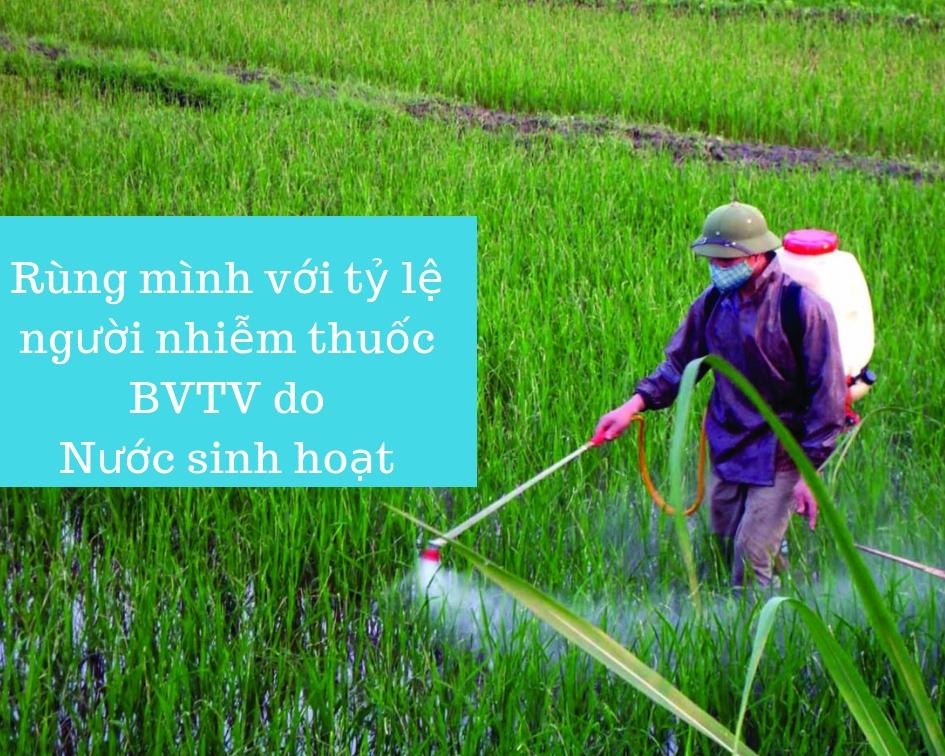 Thuốc bảo vệ thực vật trong nguồn nước sinh hoạt