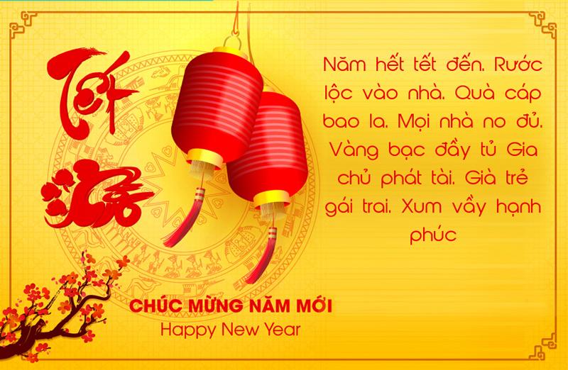 Geyser Việt Nam chúc mừng năm mới