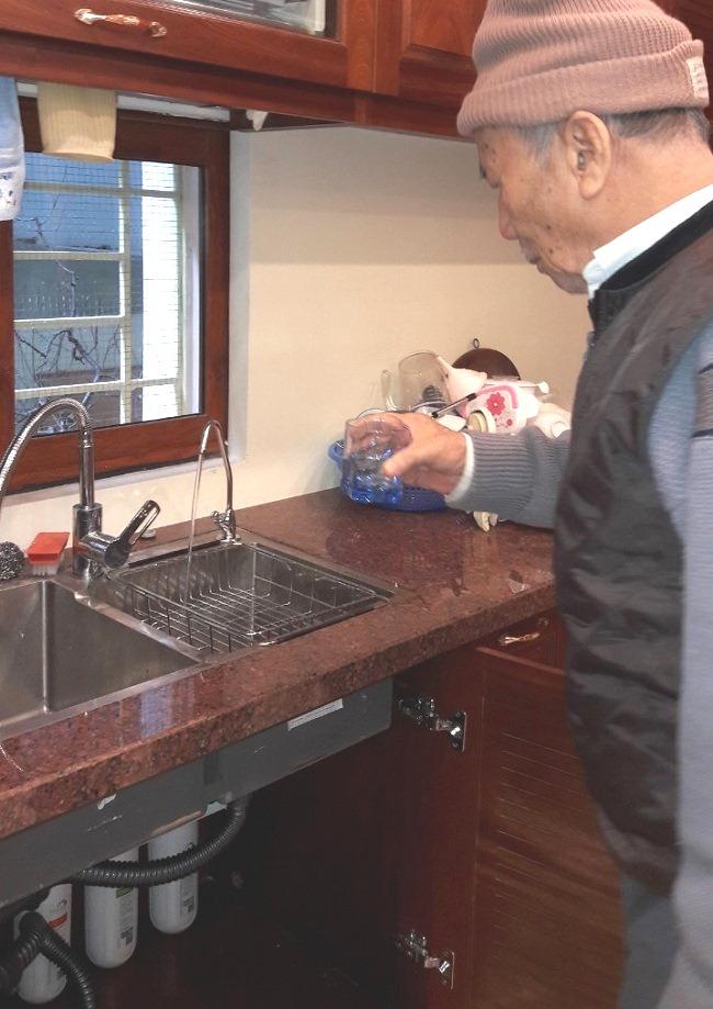Gia đình anh Hưng lắp đặt máy lọc nước nano Geyser Ecotar