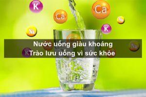 Lợi ích của nước giàu khoáng