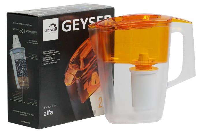 Bình nước kháng khuẩn Geyser Alpa 2.5L