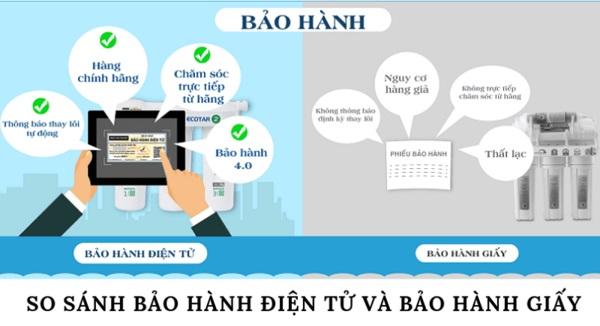 Bảo hành điện tử geyser- Geyser Việt Nam