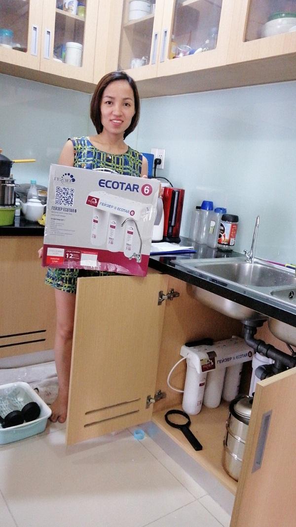 Lắp đặt máy lọc nước Geyser Ecotar 6