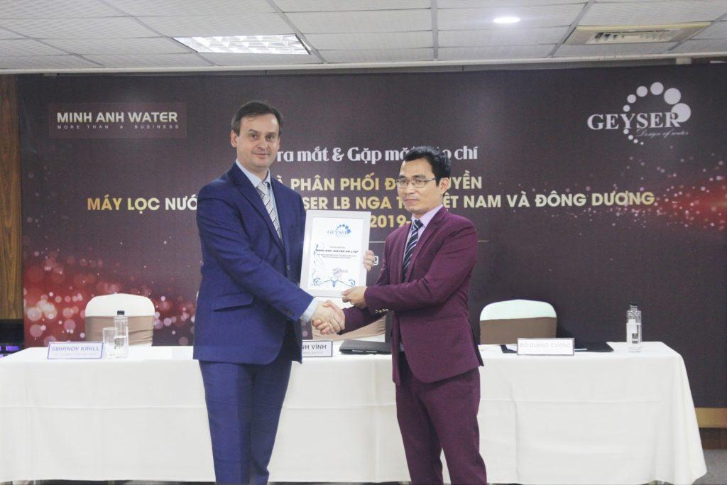 Minh Anh WAter đơn vị phân phối máy lọc nước chính hãng