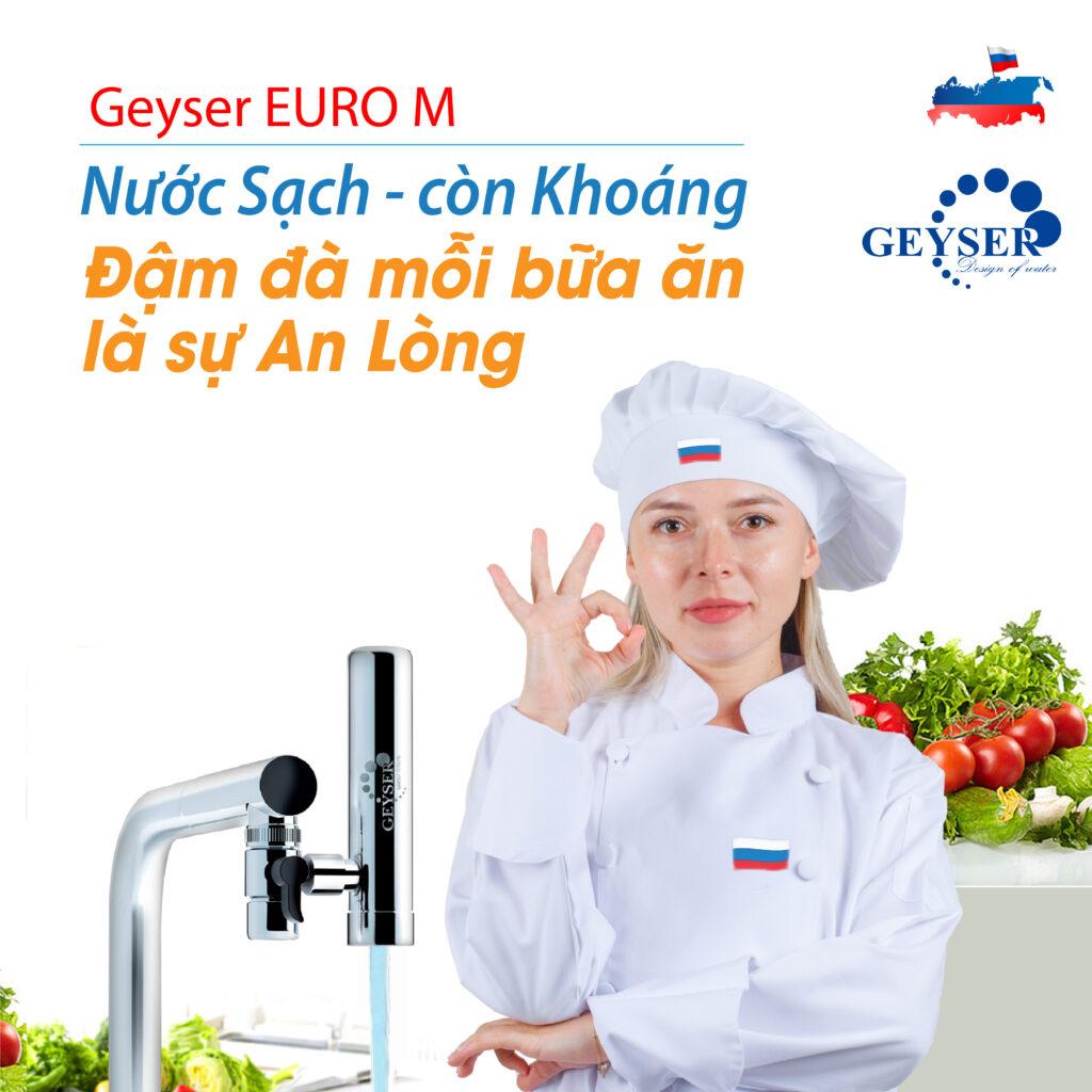Geyser EURO M mỗi bữa ăn