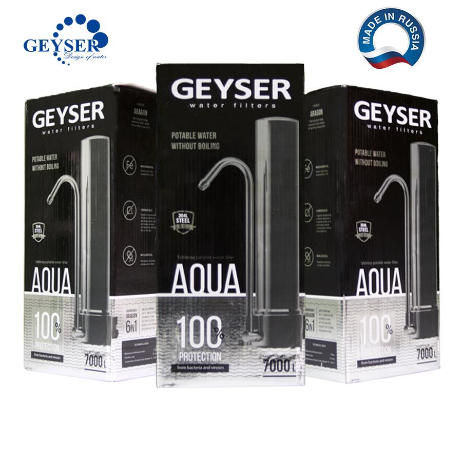 máy lọc nước gắn vòi để bàn Geyser Aqua