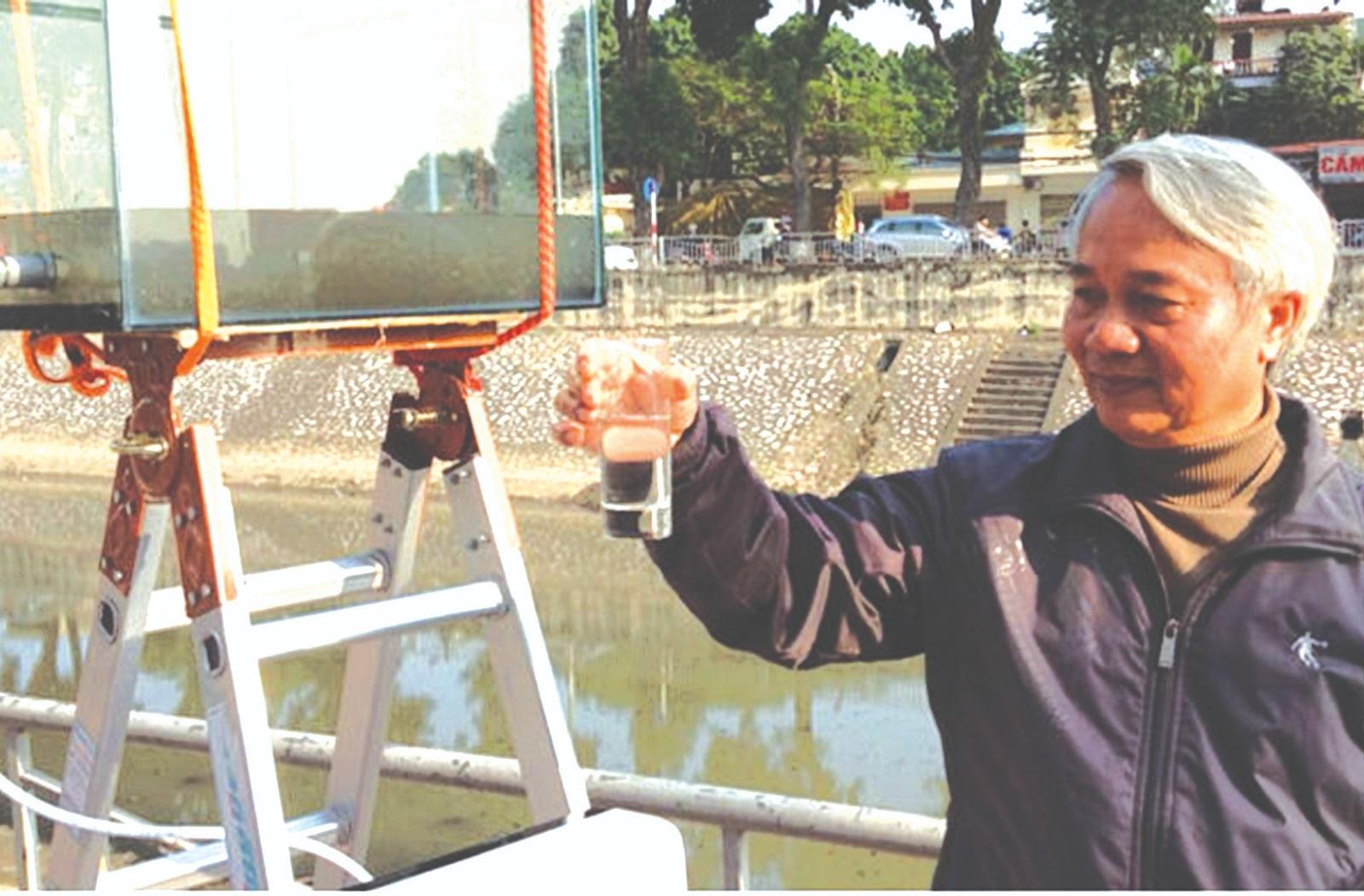 PTS.TS Trần Công Côn người nghiên cứu các loại nước