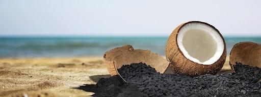 than hoạt tính làm bằng gáo dừa