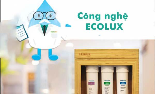 Công nghệ compact size của máy lọc nước Geyser Ecolux